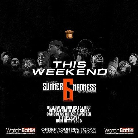 Hollow or Roc? #nyhiphopevents from @urltv - SUMMER MADNESS