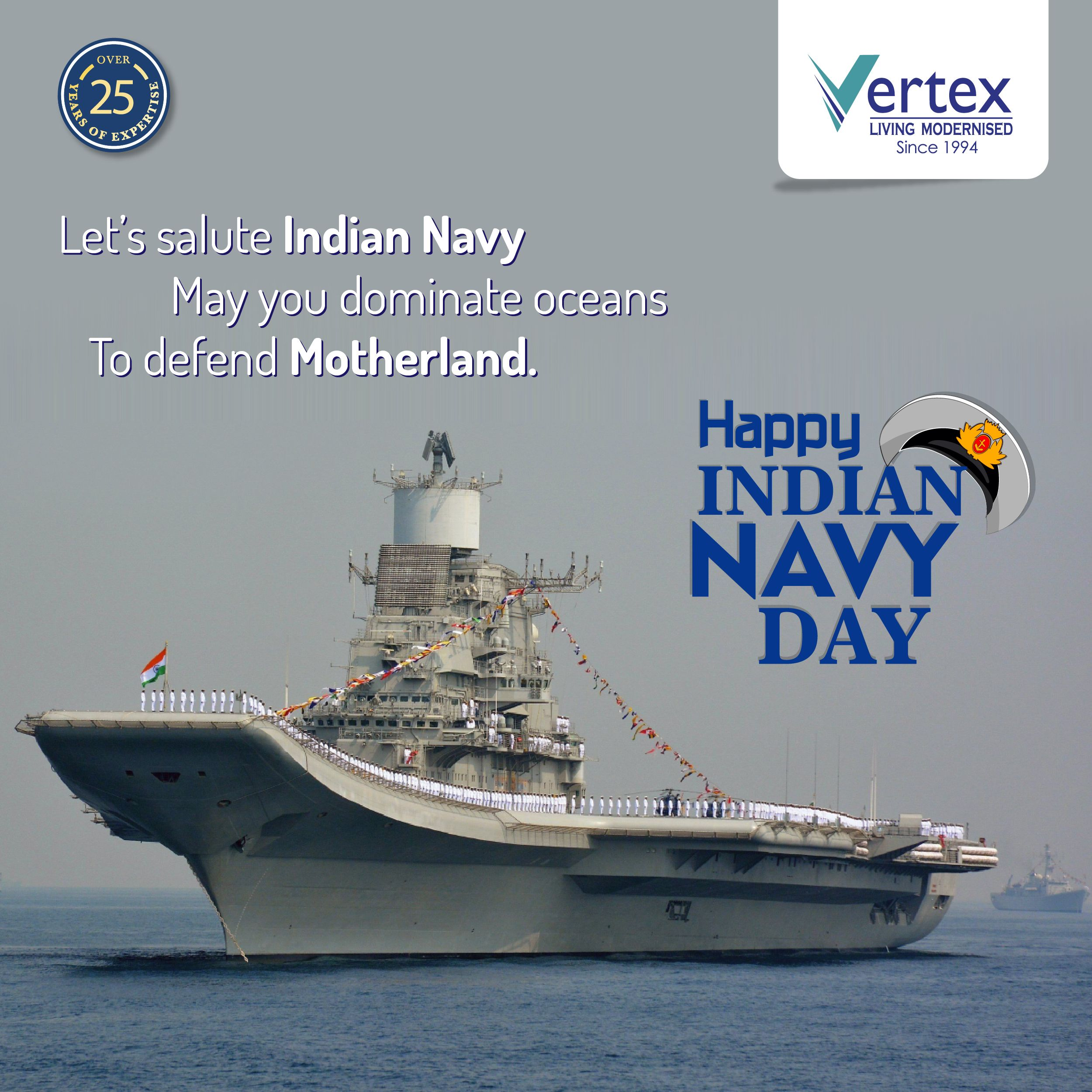 Saluting All Navy Personnel For Their Courage Dedication And Patriotism Thanking The Men In White For Keeping Us Prot Indian Navy Day Navy Day Plots For Sale