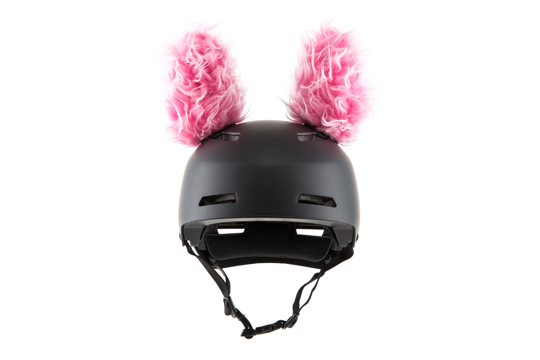 Feli the lynx helmet ears helmets snowboarding and cycling