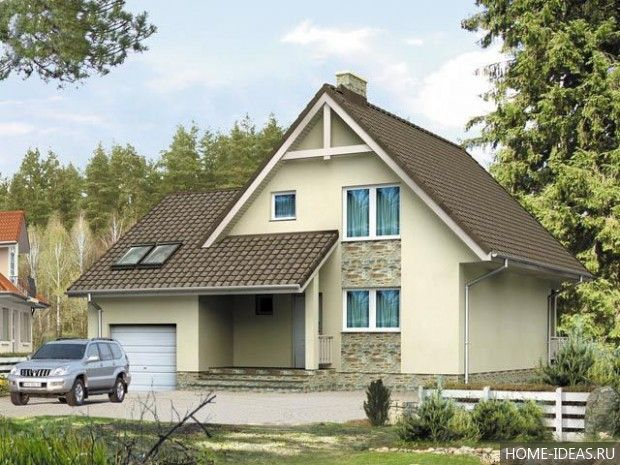 Проекты домов и коттеджей бесплатно: чертежи и фото ...