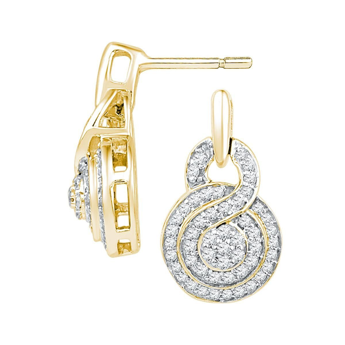 1-2CTW-Diamond FASHION EARRING