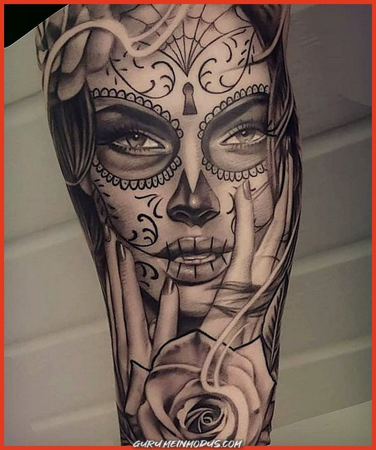 The Best Pure Tattoo Chicano on Instagram: This Day of Those Dead by @geir_north #puro …