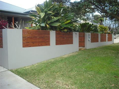 Northern Beaches Bricklaying Pier Amp Panel Front Fence