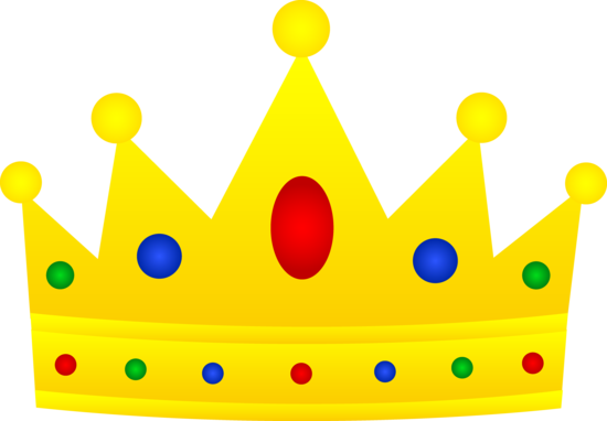 royal crown clip art golden royal crown with jewels free clip rh pinterest com clip art princess crowns free clipart crowns kings