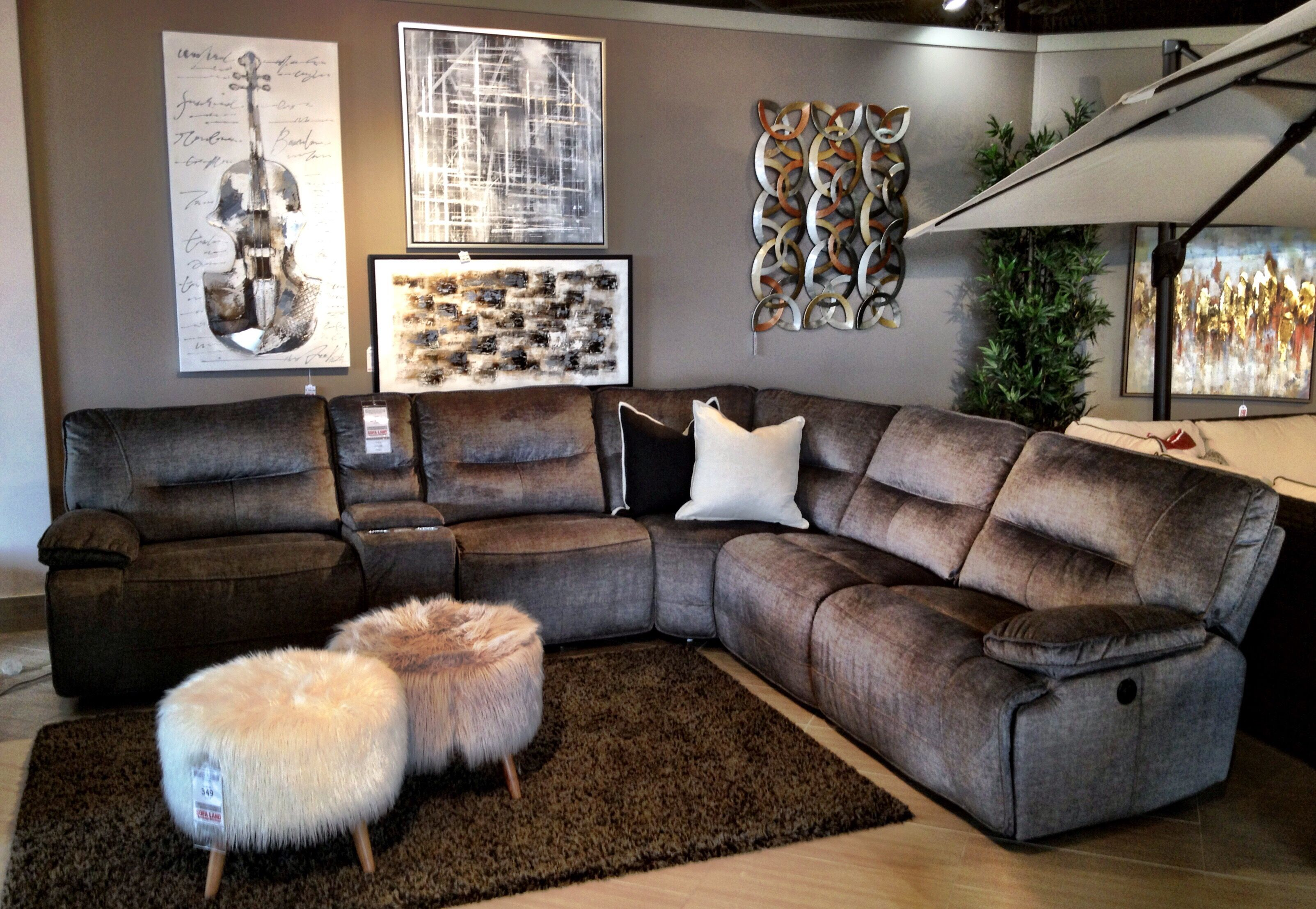 Sofaland Sectional This Comfy Sectional Is Sure To Have Your Husband Sleeping Less
