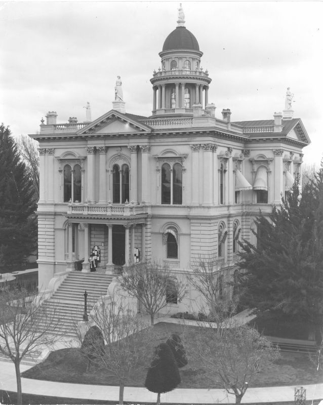 Tulare County Courthouse 1876 1957 Tulare County Tulare County