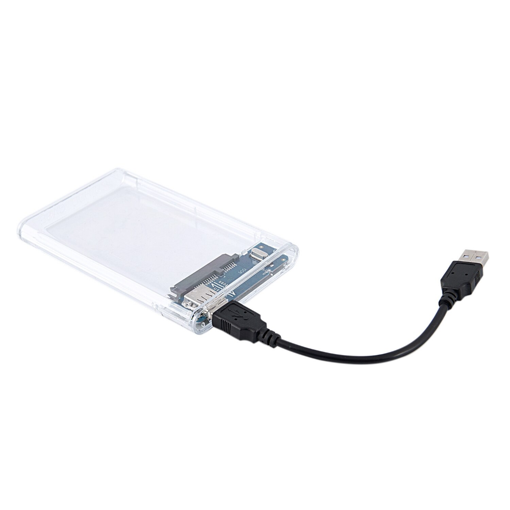 "HDD Enclosure USB 2.0 TO SATA 1TB External Hard Driver Case for 2.5/"" Hard Drive"
