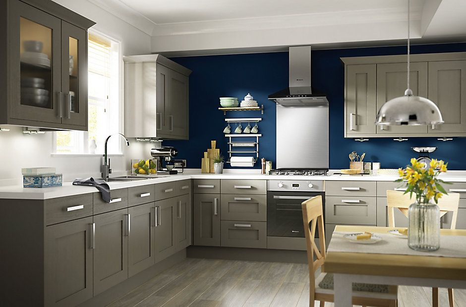 cooke & lewis carisbrooke taupe | kitchen ranges | kitchen | rooms