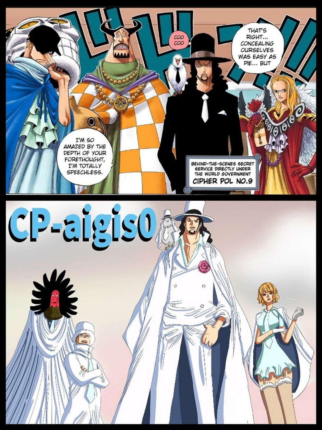 Cp9-Cp0 | One piece | One piece, One piece anime, Anime one