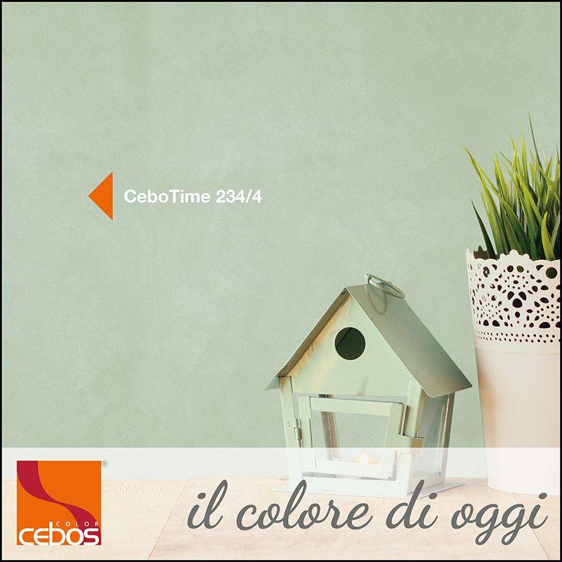 CeboTime colore 234/4: per ambienti dalla indiscutibile tranquillità, luminosi e dal grande gusto estetico...  #ilcoloredioggi #verde #cebotime #piaceriquotidiani #finiturepreziose #colore #cebos #ceboscolor #ceboscolorofficial
