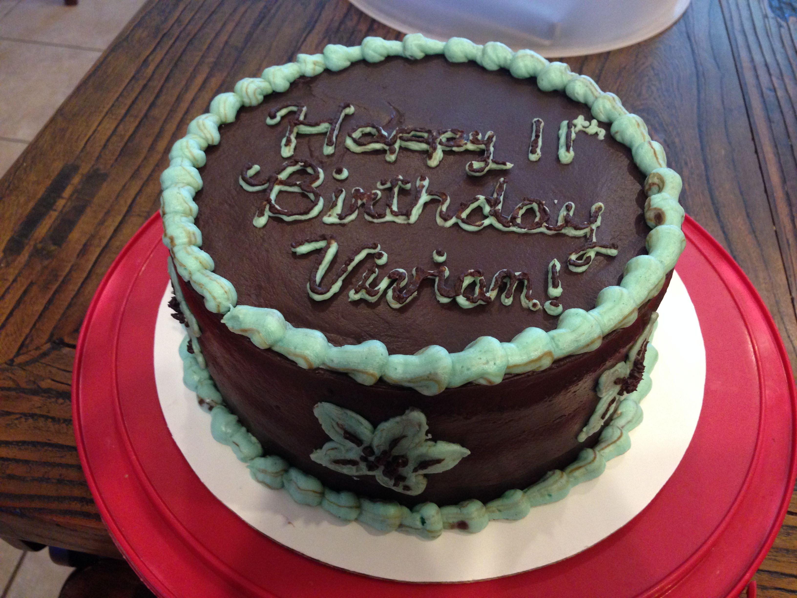 Happy birthday vivian cake