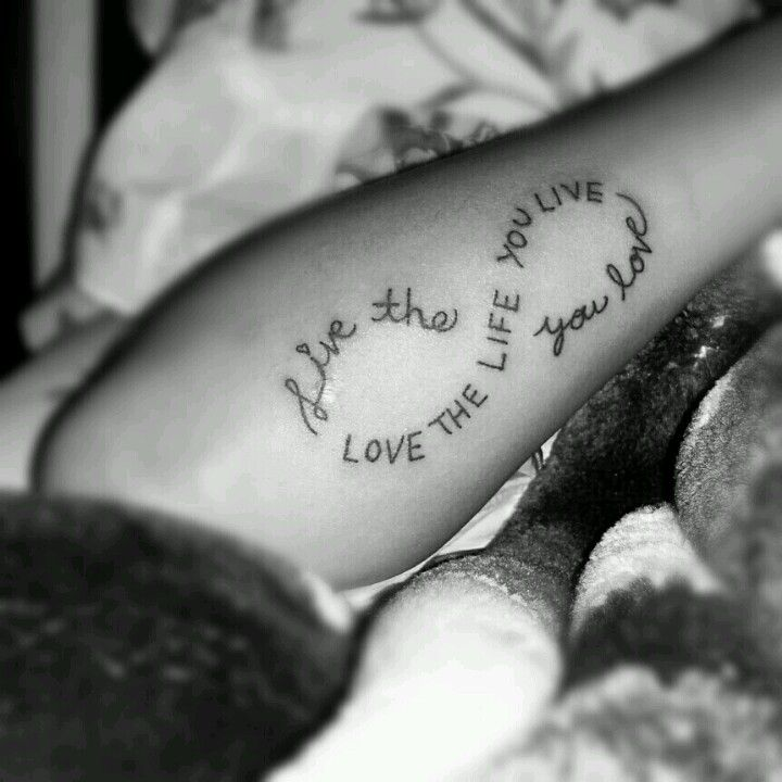 Tell Me My Tatt Aint Fresh Infinitysymbol The Infinity Symbol Is