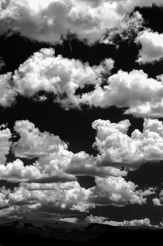 Mountain Clouds Art Print by The Forests Edge Photography - Diane Sandoval