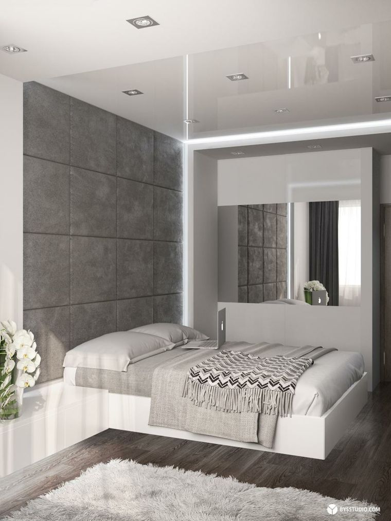 D co chambre parentale de style industriel chic bedrooms for Chambre parentale
