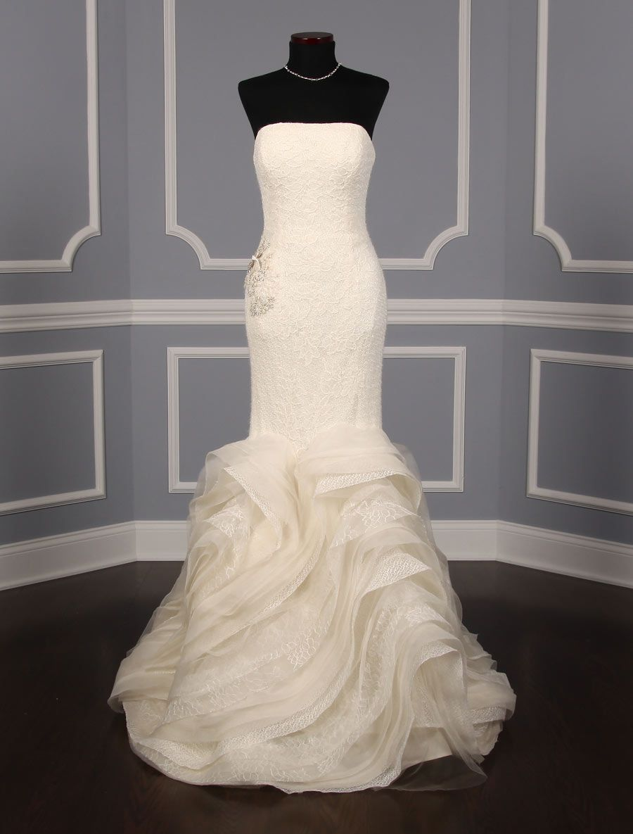 fed94cce4ef Vera Wang Lindsey 120413 Wedding Dress Size 6