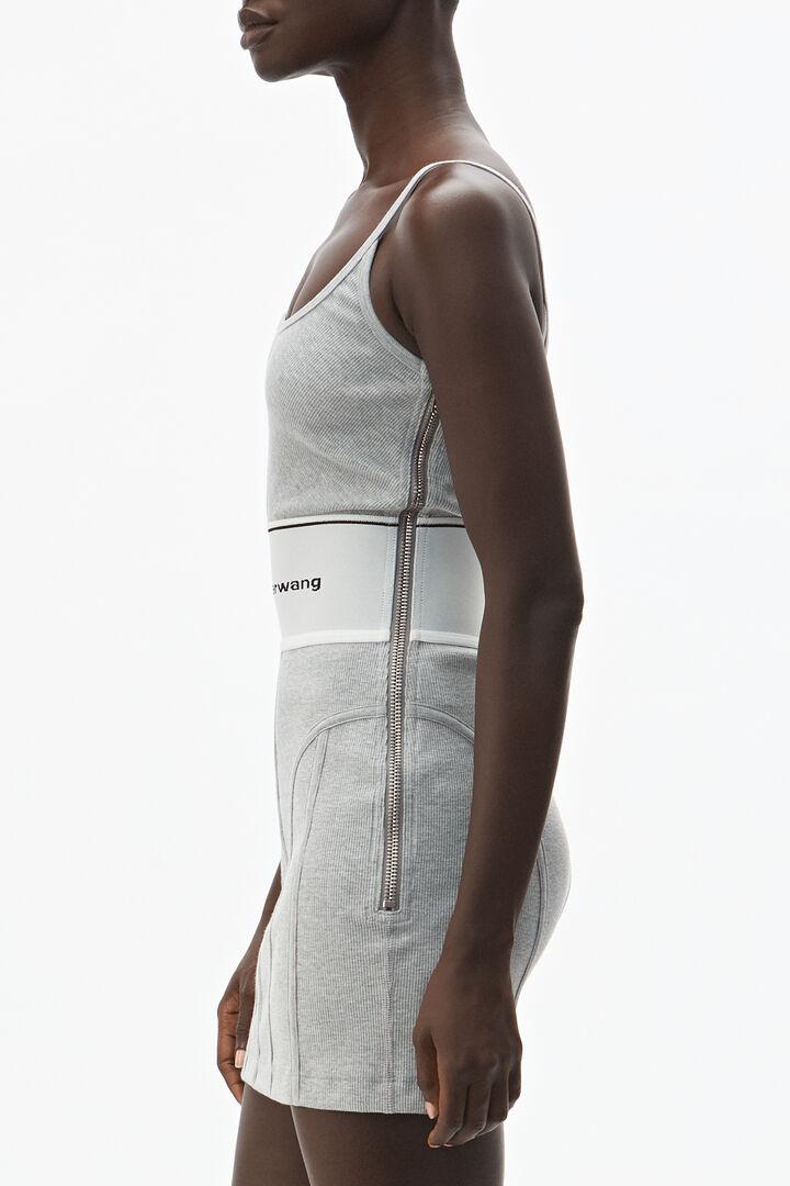Alexanderwang Logo Elastic Mini Dress In 2020 Mini Dress Dresses Vintage Style Outfits