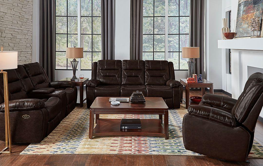 Corinthian Living Room Etheridge Leather Sofa And Loveseat Recliner Free 55etheridge In 2020 Leather Sofa And Loveseat Leather Sofa Reclining Furniture