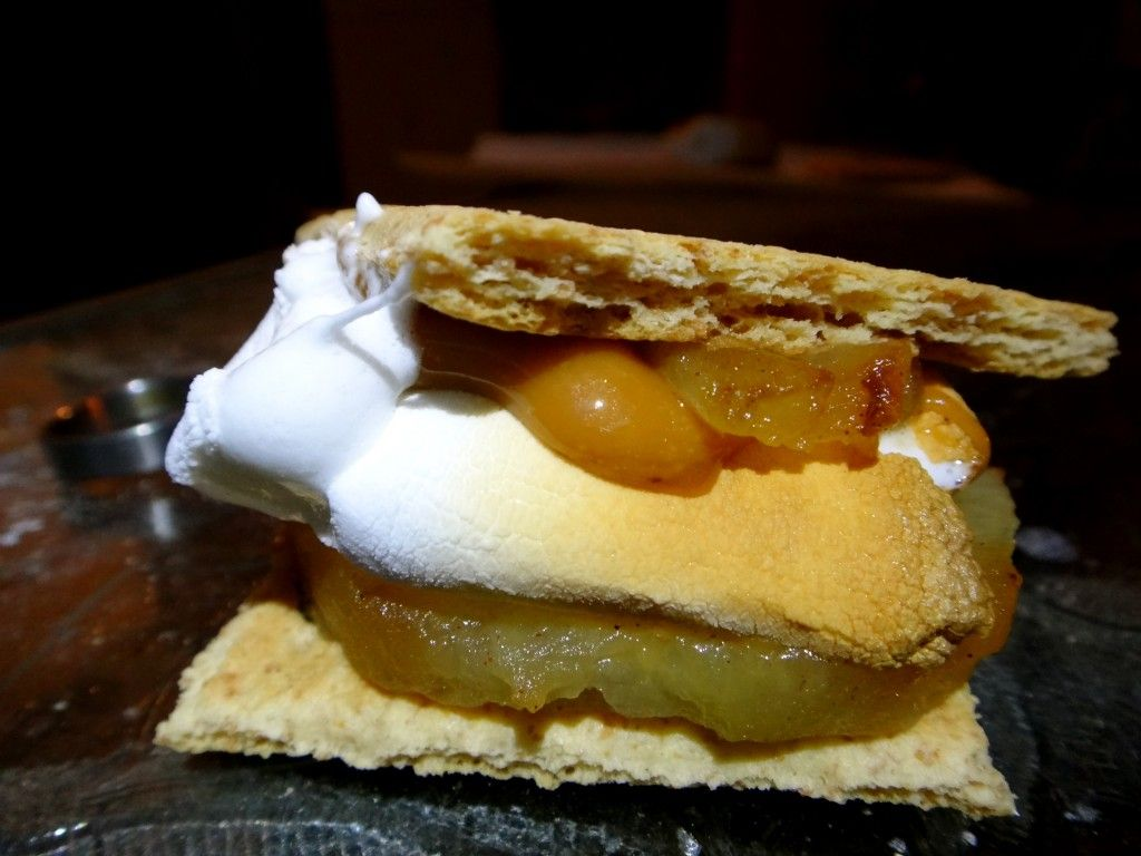 Camp Recipes Apple Pie Gourmet S'mores Recipes Marking
