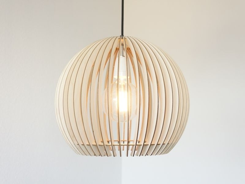 SCOBIS STELLA Lampenschirm aus Holz | Lampe