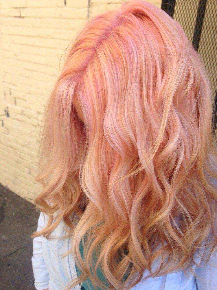 Cotton Candy Pink Using Pravana Pastels Yelp