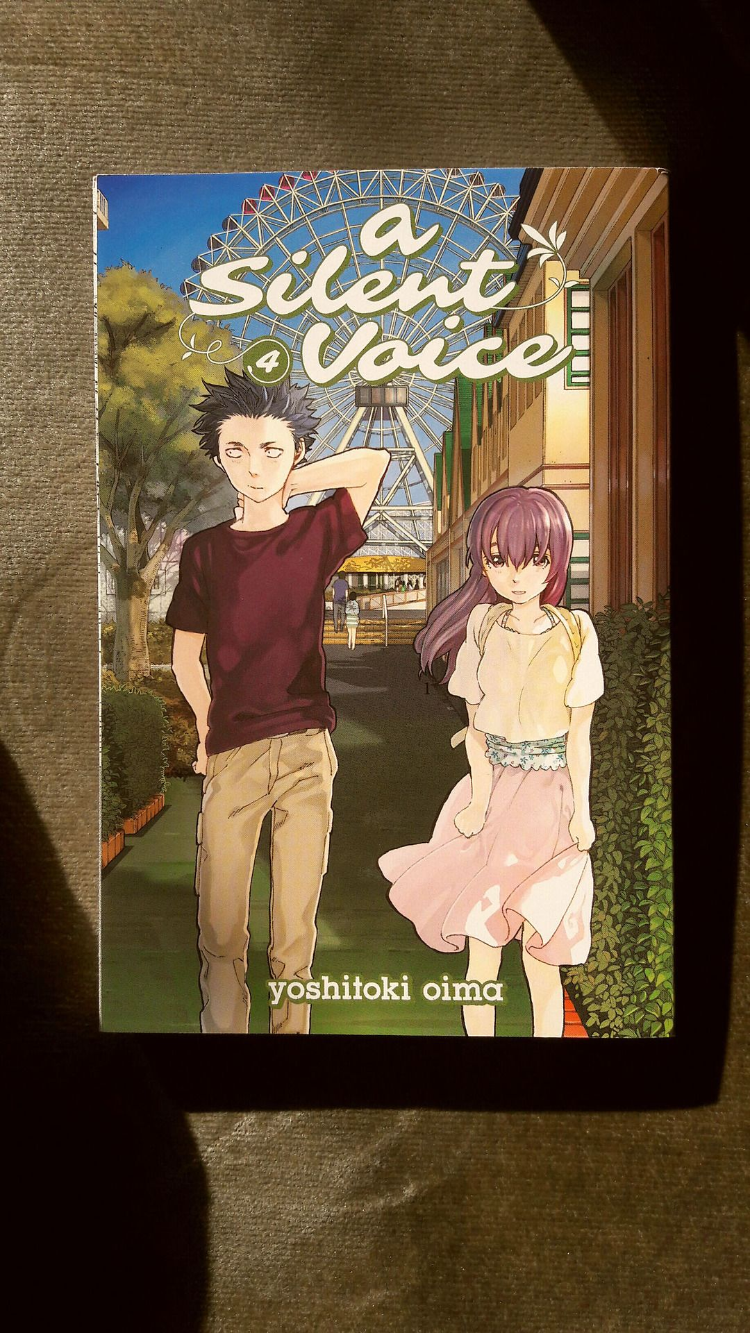 A Silent Voice, Volume 4 by Yoshitoki Oima: http://marinaillustrates.tumblr.com/post/159049595666/recap-a-silent-voice-by-yoshitoki-oima-focuses-on
