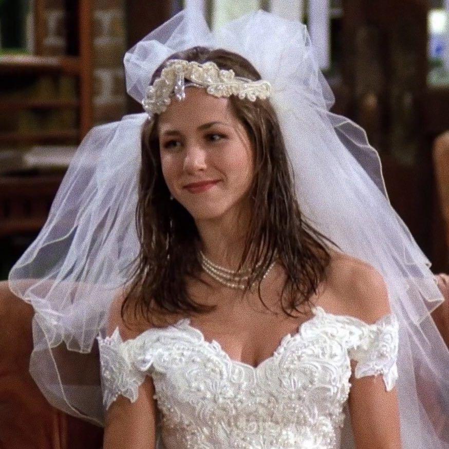 Honeysweetkiss Green Wedding Dresses Wedding Movies Rachel Green