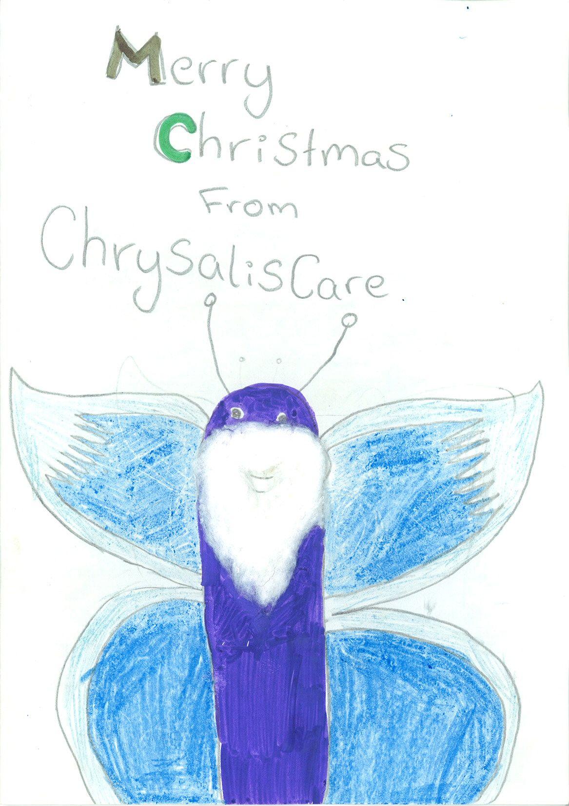 Chrysalis Care Christmas Card Entry #11