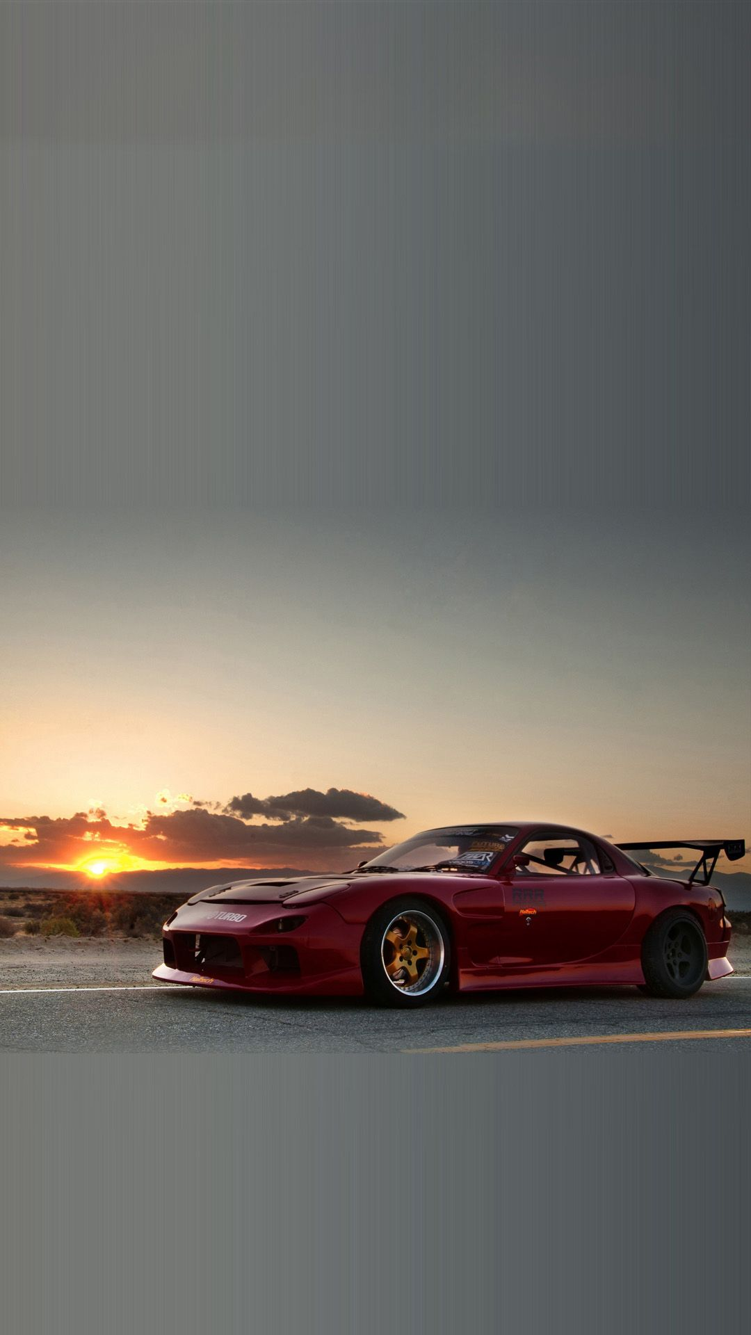 Cars Mazda RX7 Sunset Android Wallpaper wallpapers hd