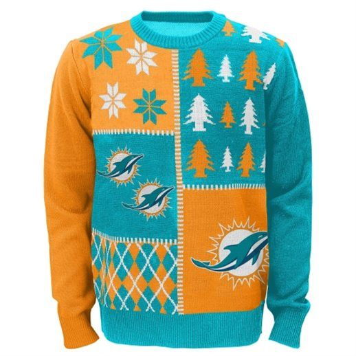 Pin On Sports Team Ugly Christmas Sweaters