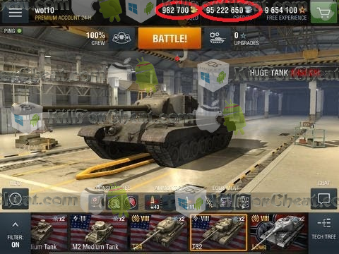 World of Tanks Blitz Hack - Free Gold (live proof) World of