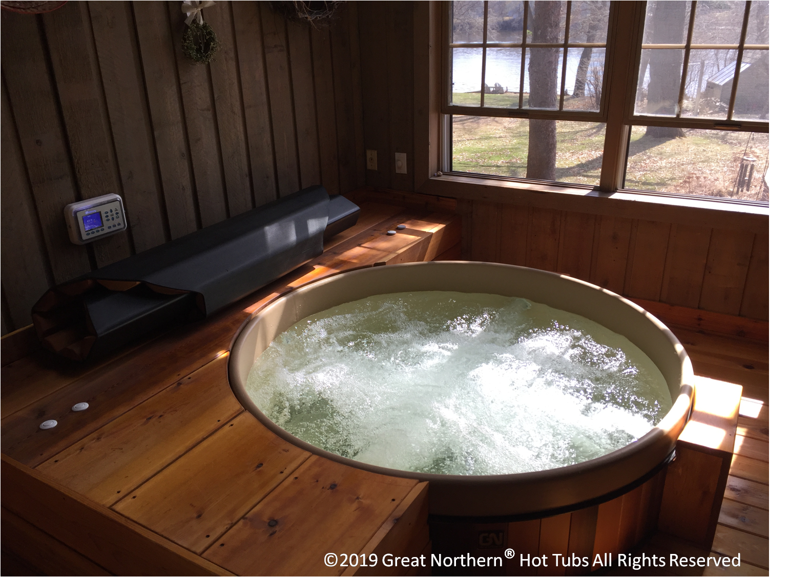 Great Northern Custom Cedar Hot Tubs And Exercise Tubs Hot Tub