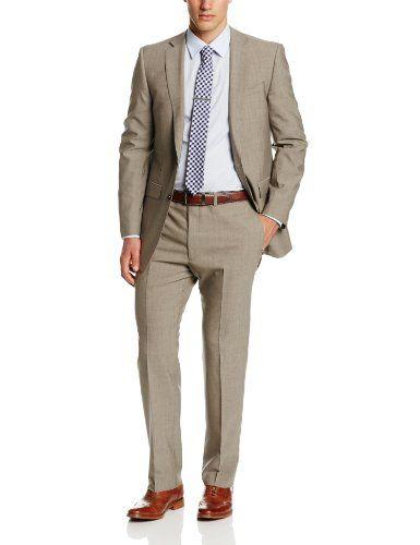 Calvin Klein Men's Mabry Extra Slim Fit Suit, Brown, 36 Short ...