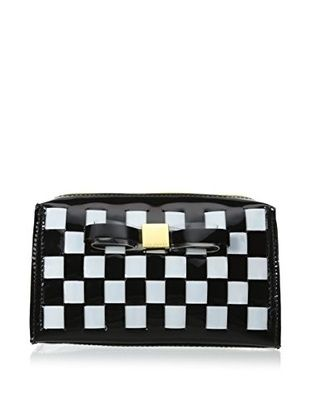 Ted Baker Wilma Woven Small Washbag Cosmetic Case, Black