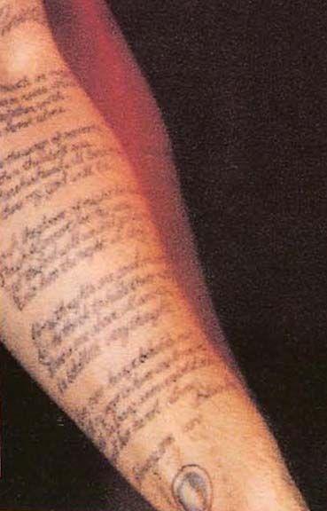 Shannon hoon tattoos