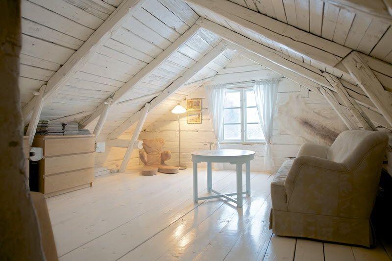 Attic Space Sweden Attic Stuga Hus