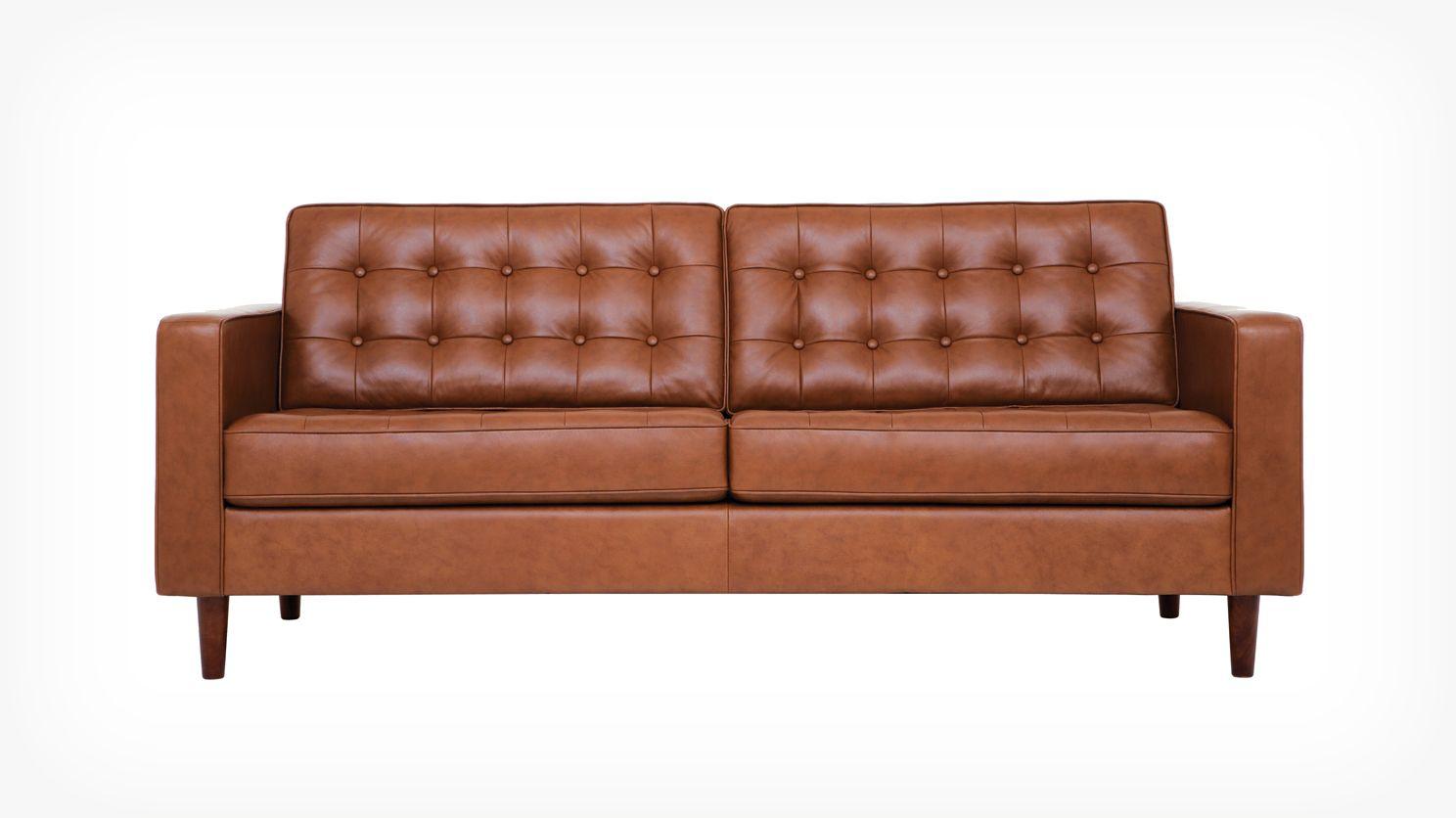 Reverie Apartment Sofa Leather Sofa Classic Sofa Apartment Sofa
