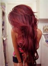 Ion Medium Burgundy Blonde Hair Color Bing Images Dyed Red