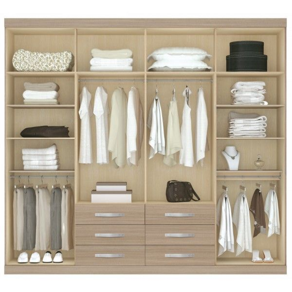 Resultado de imagen para closets melamina cuatro cuerpos for Closet para cuartos matrimoniales