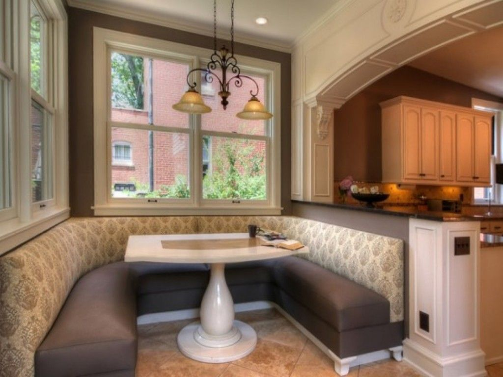 Kitchen Island With Booth Seating booth attached to kitchen island - google search | kitchen booth