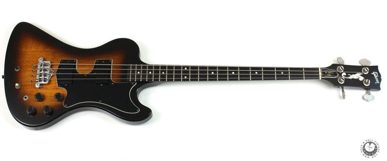 Gibson 1981 Rd Artist Bass Tobacco Sunburst Bass Guitar Bass Guitar