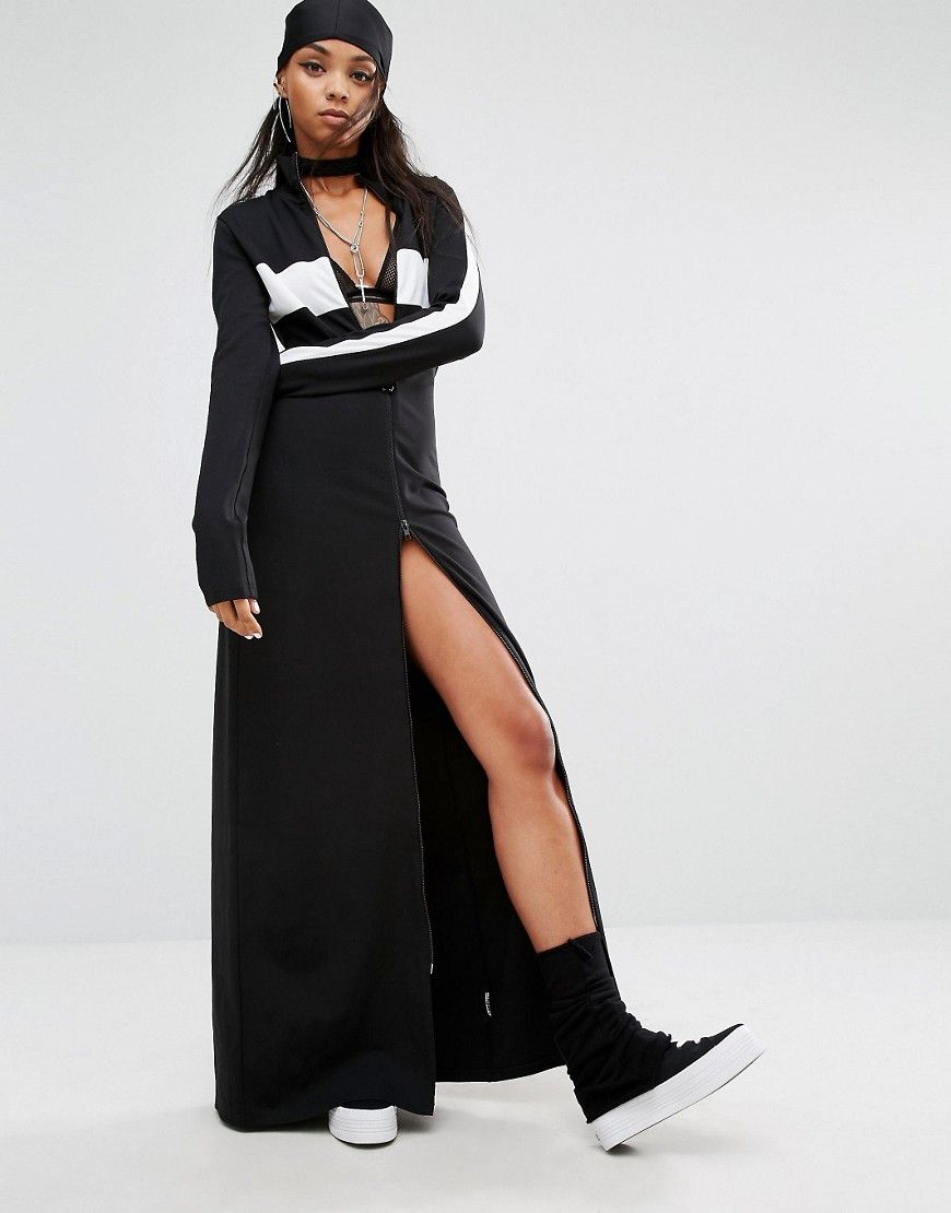 new concept aab39 143cf Fenty X Puma By Rihanna High Neck Maxi Dress | style | Maxi ...