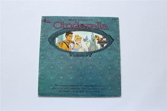 Your Place To Buy And Sell All Things Handmade Walt Disney Cinderella Record Album Album Book