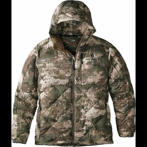 dc47f69d01336 Cabela's Instinct™ Men's Backcountry Packable Super-Warm Down Jacket (O2  Octane) $199