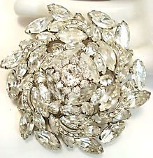 Vintage Jewelry Juliana Brooch rhinestone | eBay