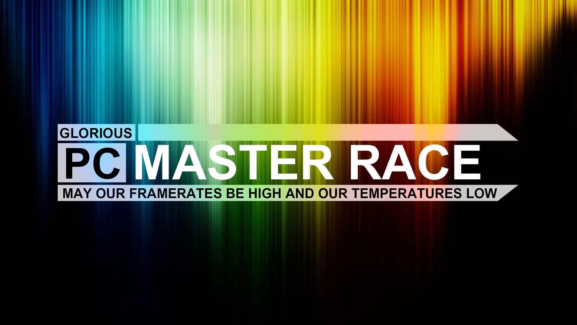 Glorious Pc Master Race Wallpaper