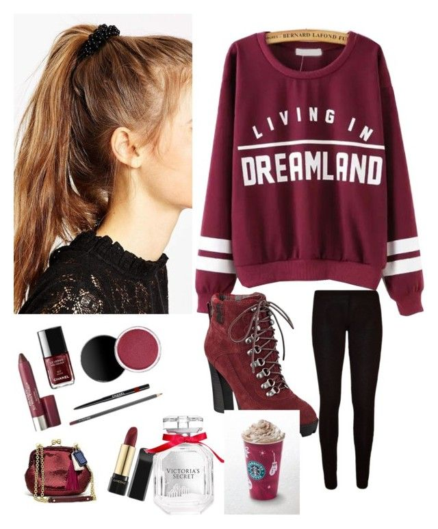 """LETS GO TO ★ _\_\_\STARBUCKS_\_\_\_/\_/\_/\_/\_/\_/"" by vtorres0003 on Polyvore featuring beauty, ASOS, Nine West and Victoria's Secret"