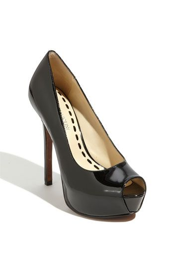 65d6f3804d2 ... pair of black peep toe pumps and I think these are it! They re perfect  for work and for nights out. (Angiolini  Tanen  Pump available at   Nordstrom)