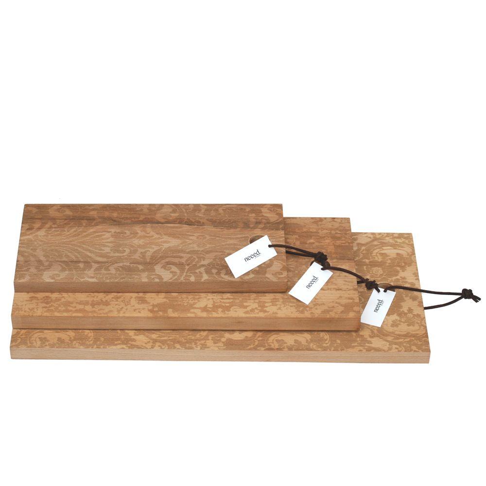Küchenbrett Mit Barockmuster, Cutting Board, Pattern, Wood, Schneidebrett,  Designer Schneidebrett,