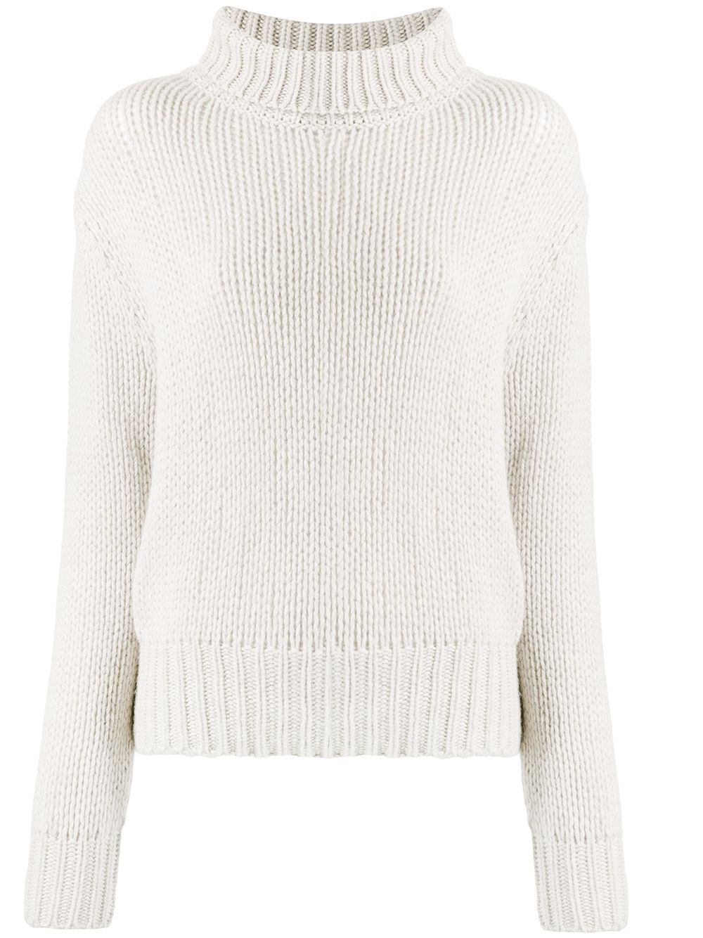 Aragona chunky knit jumper - White