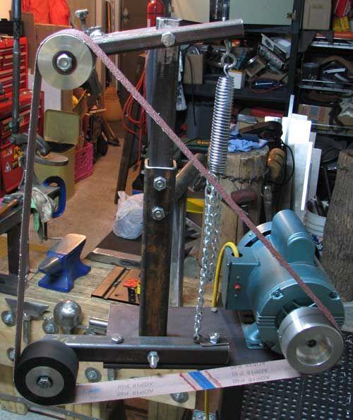 Belt Sander Quase Pronto Metal Working In 2019 Belt